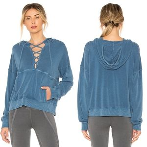 Free People Movement Blue Believer Sweatshirt